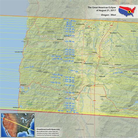 map of oregon total eclipse oregon eclipse total solar eclipse of aug 21 2017