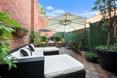 Patio Factory by Factory Lofts Condo In Williamsburg Offers A Two Tiered