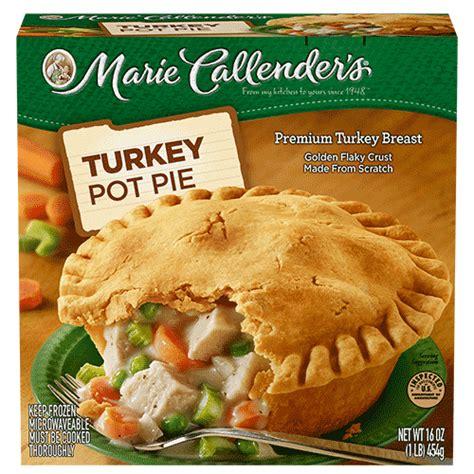 Calendars Pies Turkey Pot Pie Callender S
