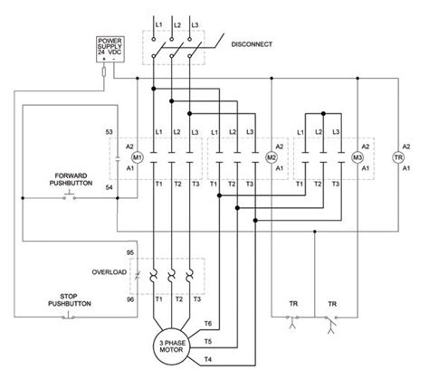 combination motor starter wiring diagram 40 wiring