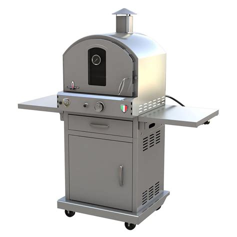 Oven Racks Lowes by Shop Lava Heat Italia La Piazza Liquid Propane Outdoor Pizza Oven At Lowes