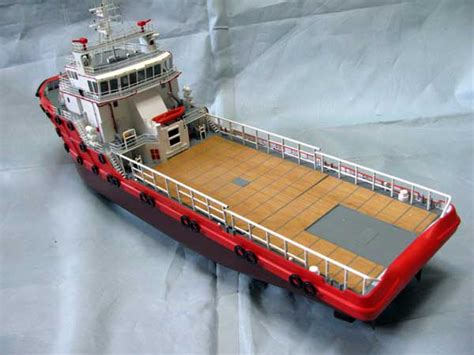 Rc Offshore Ahts rc anchor handling tug boat ship ahts unassembled