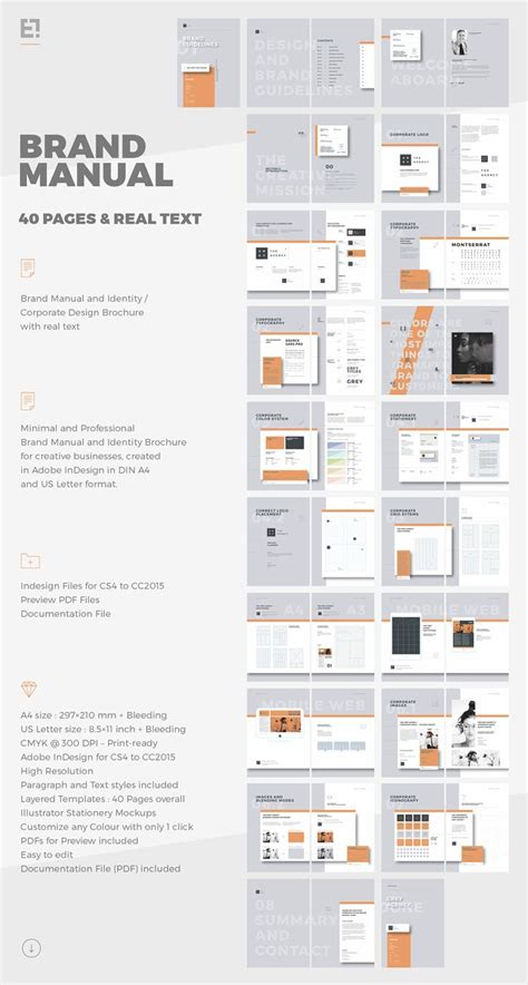 brochure layout guidelines the 25 best brand manual ideas on pinterest brand book