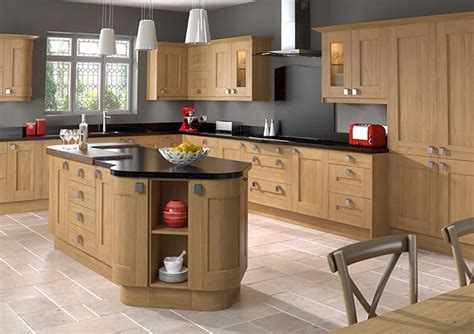 Shaker Kitchens British Kitchens Kitchen Solutions Kent Light Oak Kitchens