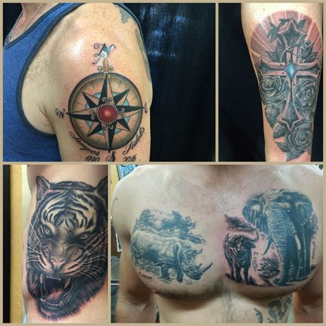 tattoo san diego san diego s tattoos of the month july funhouse