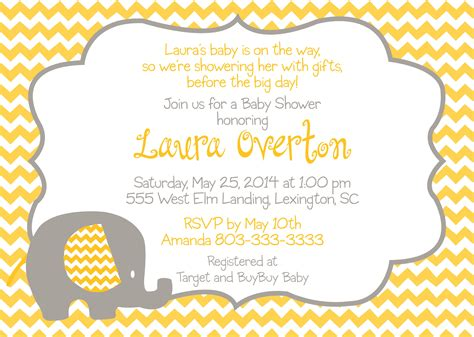 Purple Owl Baby Shower by Baby Elephant Chevron Yellow Saflly Free Printable