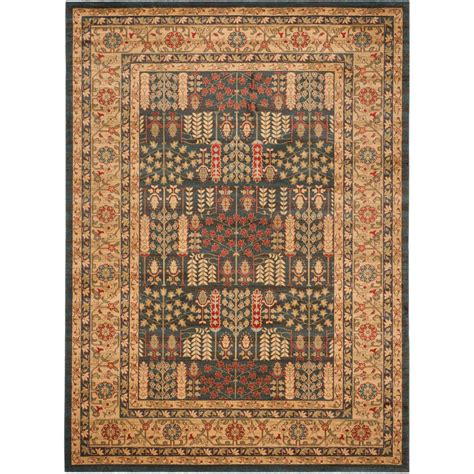 8 X 11 Area Rug Safavieh Mahal Navy 8 Ft X 11 Ft Area Rug Mah697e 8 The Home Depot