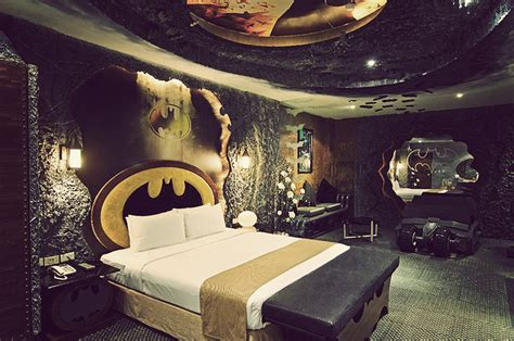 batman inspired suite in taiwan hotel utb
