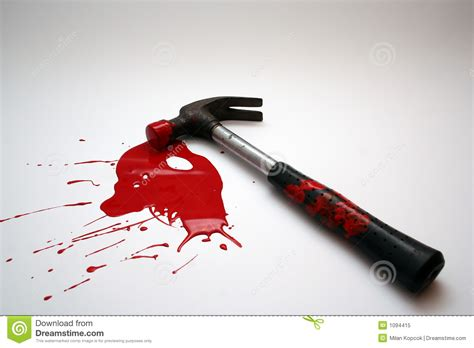 Bloody Hammers hammer royalty free stock photo image 1094415