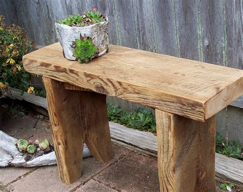 plant benches stands garden bench plant stand recycled barn wood