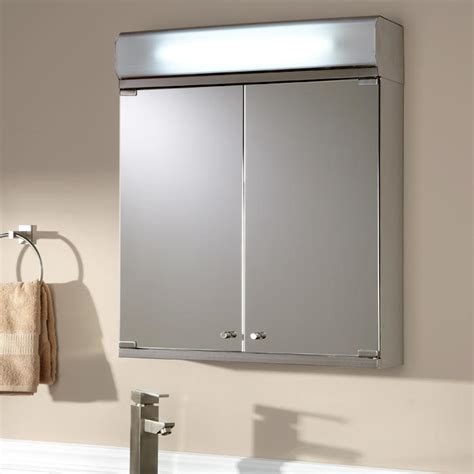 medicine cabinets with lights and mirror brilliant aluminum medicine cabinet with lighted mirror