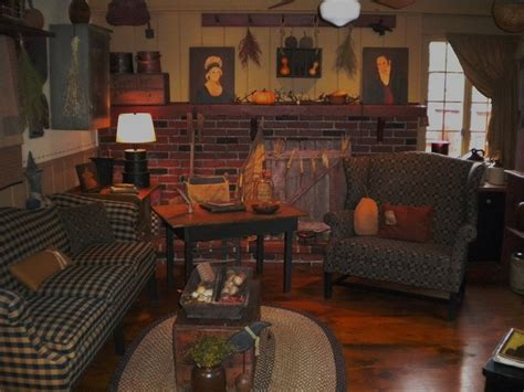 beautiful fireplace country primitive rooms pinterest 458 best images about keeping rooms on pinterest country
