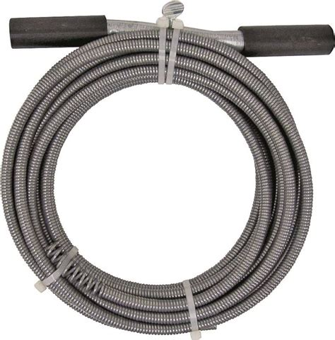 Cobra 20000 Drain Pipe Auger, For Use With Most Small and Medium Household Drains, 3/8 in X 25 ft
