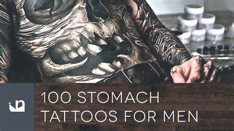 stomach tattoo for men 100 stomach tattoos for