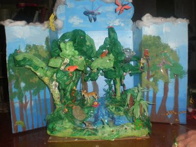 amazon rain forest diorama background and animals girl how to make a shoebox diorama 28 ideas guide patterns