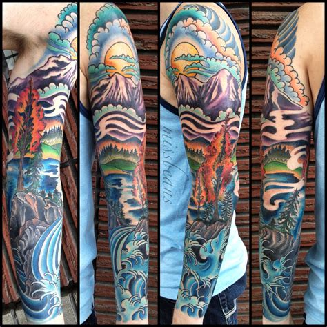 outdoor tattoo sleeves 1000 images about tattoos on tattoos