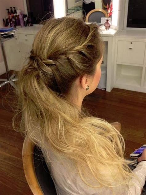 ponytail braid hairstyles 14 braided ponytail hairstyles new ways to style a braid
