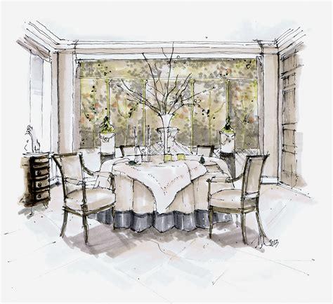 saladino dining room designer sketches