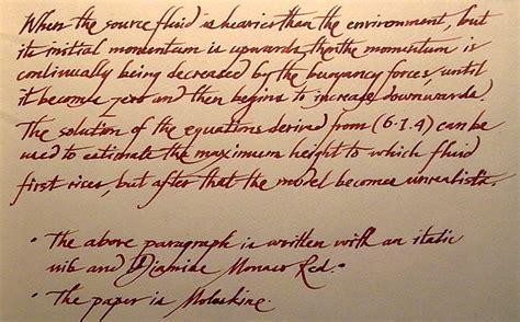 handwriting style writing