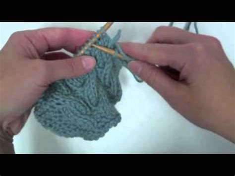 cn knitting cable without a cable needle tutorial knitting blooms
