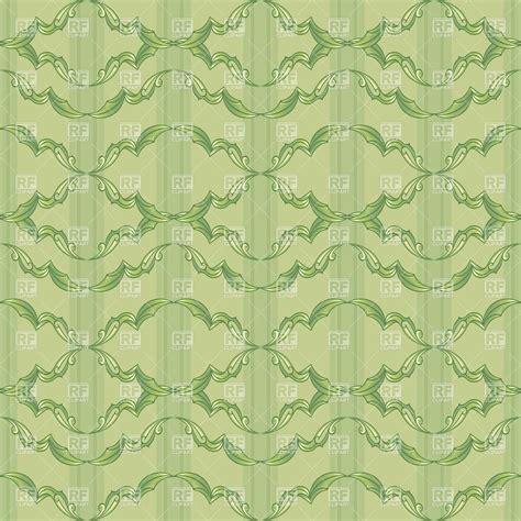 wallpaper pattern vintage green vintage green wallpaper pattern vector clipart image 8211