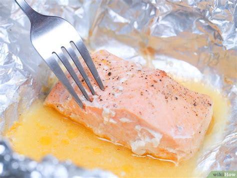 modi di cucinare il salmone 3 modi per cucinare il salmone al forno wikihow