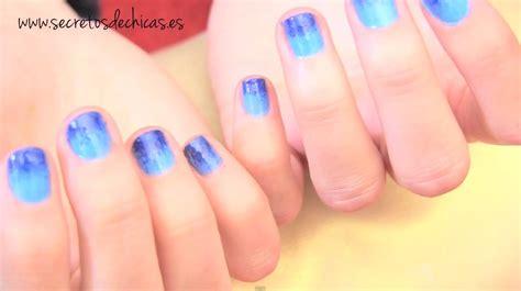 imagenes para pintar las uñas pintado de u 241 as con esponja youtube