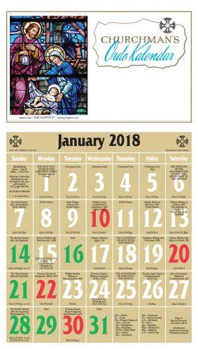 Episcopal Calendar Liturgical Desk Calendar 2018 Desk Design Ideas