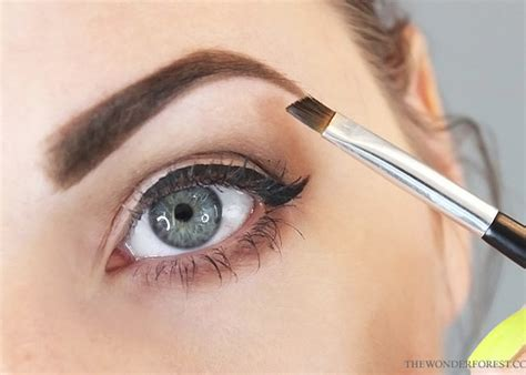 how to use eyebrow stencils like a pro wonder forest