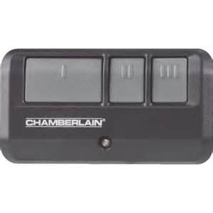 Garage Door Opener Remote Chamberlain Chamberlain Garage Door Opener Review