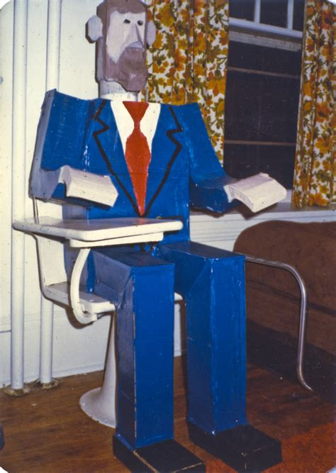 How To Make A 3d Figure Out Of Paper - cardboard 1981 tested