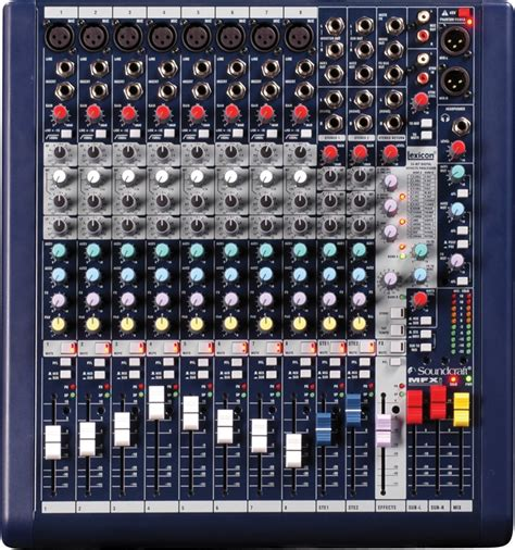 Mixer Soundcraft Efx8 8channel soundcraft mfxi 8 sweetwater