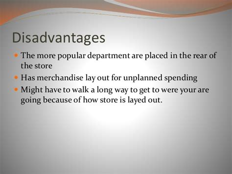 Retail Layout Advantages And Disadvantages | retail store layout