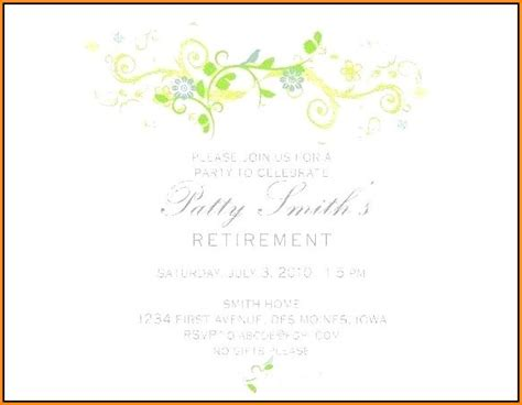 Retirement Party Flyer Template Word Template 2 Resume Exles Klyrekb96a Retirement Invitation Template Microsoft Word