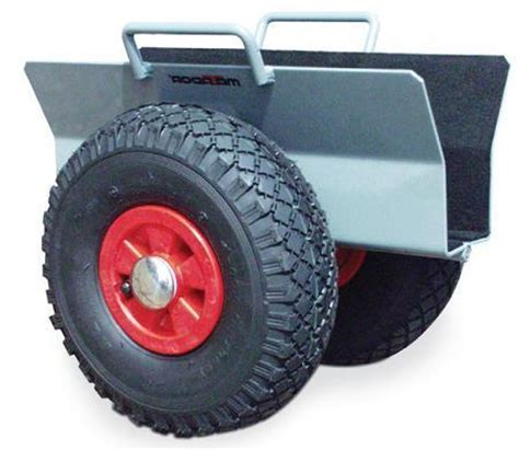 Shed Dolly Wheels by Door Panel Dolly With Pneumatic Tyres Free Delivery Key