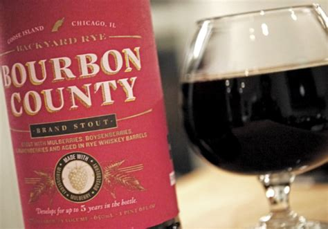 bourbon county backyard rye goose island releases the new bourbon county on black friday