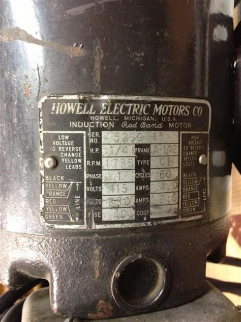 photo index howell electric motors co band