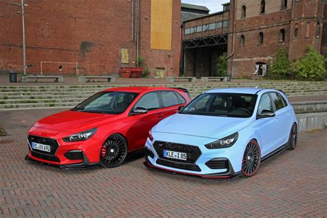 Hyundai I30 N Performance Tieferlegen by Dezent Hyundai I30 Mit Drive Emotion Bodykit By Zymexx