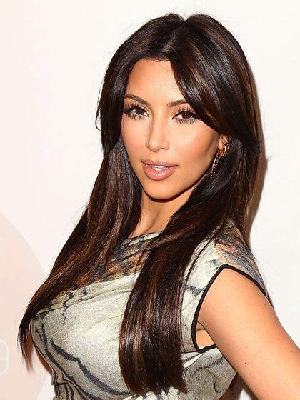 kim kardashian hair color highlights kim kardashian dark brown hair with highlights hair