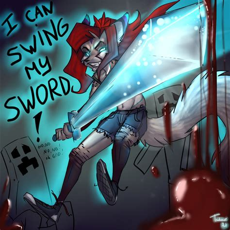 can i swing my sword i can swing my sword by tsukinori on deviantart