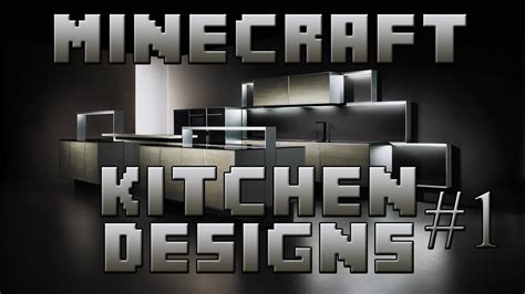 minecraft interior design kitchen minecraft interior designs episode 1 kitchen designs