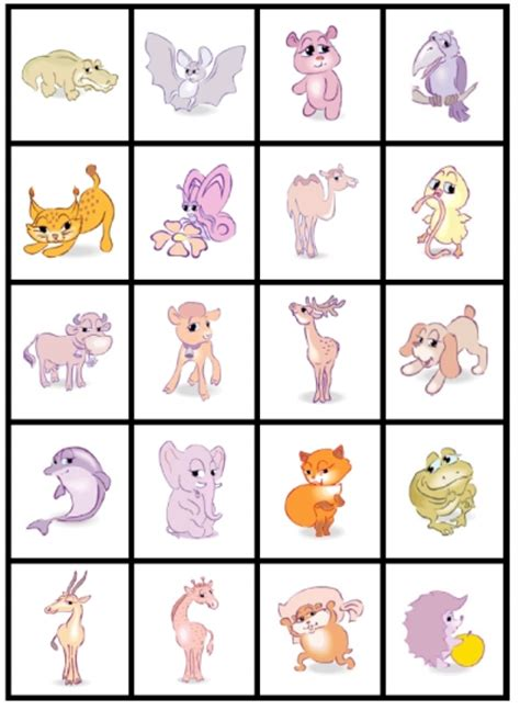 printable zoo animal matching game 6 best images of animal matching game printable zoo