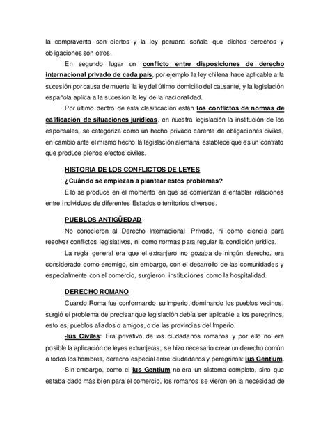 derecho internacional privado apuntes derecho internacional privado parte general