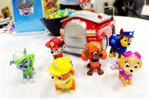 Paw patrol characters skye zuma rubbble ryder chase marshall and