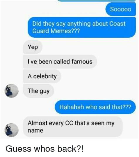 Guess Whos Changing Their Name by 25 Best Memes About Coast Guard Memes Coast Guard Memes