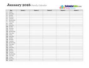 Calendar Planning Template by 2016 Monthly Planner Template Free Printable Templates