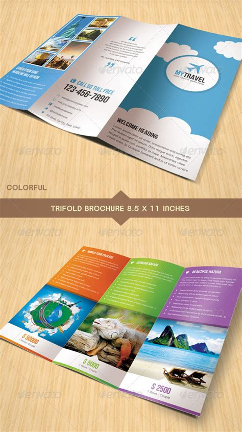16 wonderful psd indesign travel brochure templates