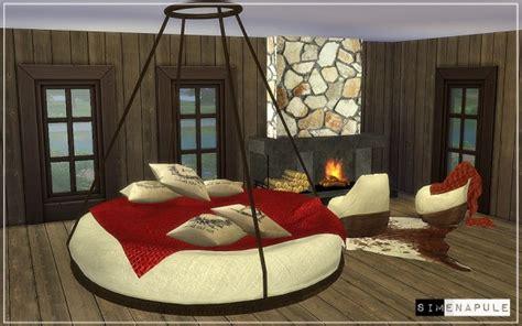 sims 4 cc furniture simenapule bedroom set hamal sims 4 downloads