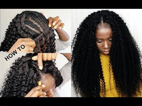 sew in crochet weave styles how to crochet method on sew in weave no leave out