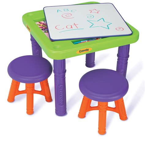 Crayola Table And Stool by Crayola Sit N Draw Play 3 Table And Stool Set